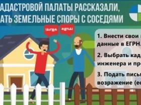 Эксперты Кадастровой палаты рассказали, как избежать земельных споров с соседями